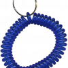 Translucent Dark Blue Wrist Coils